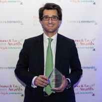 Stefano Simontacchi - Finance & Tax Community Awards 2015